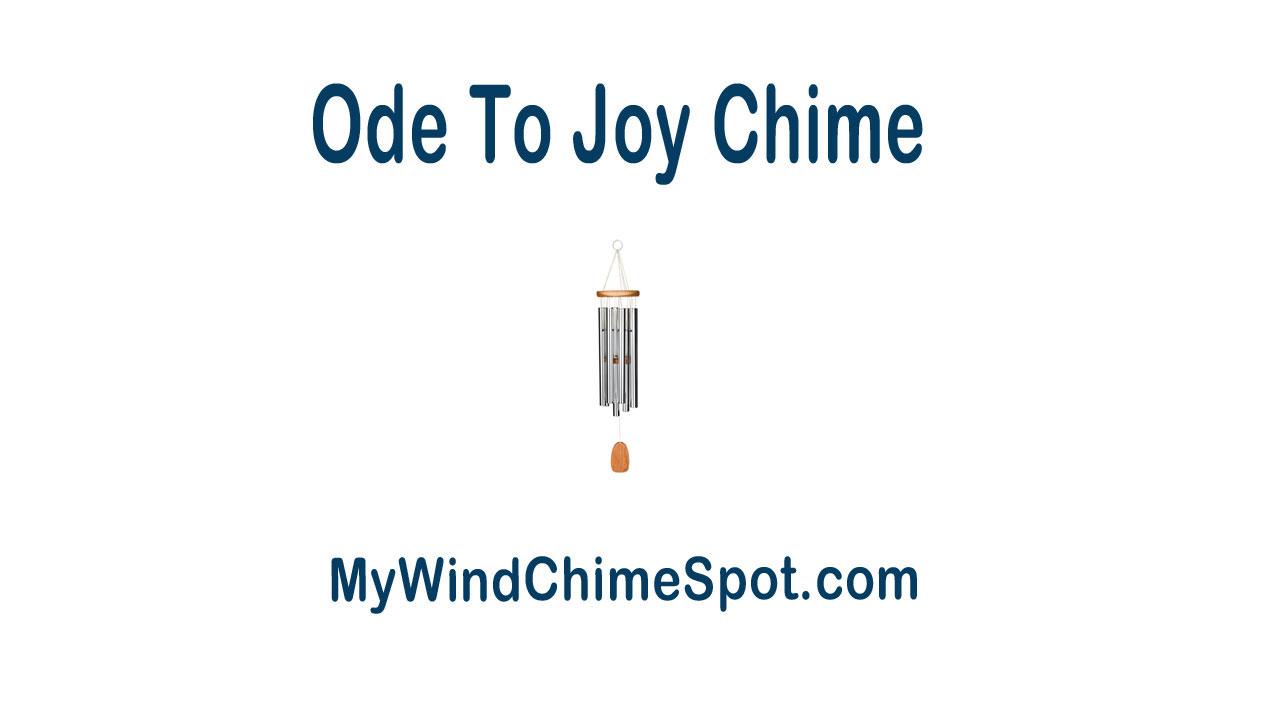 oj Woodstock Ode To Joy Wind Chime