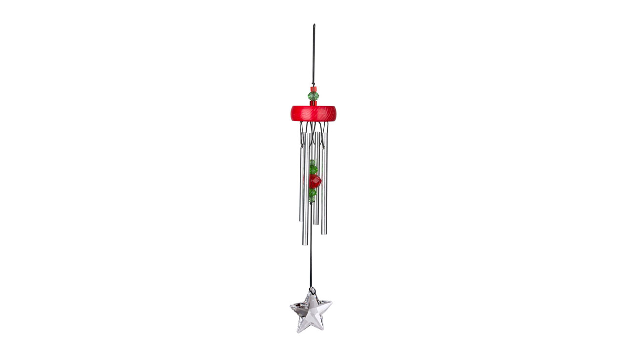starrhd Red Starlight Wind Chime